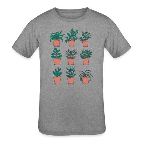 Flowerpots - Kids' Tri-Blend T-Shirt