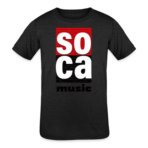 Soca music - Kids' Tri-Blend T-Shirt