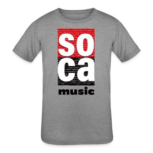 Soca music - Kids' Tri-Blend T-Shirt