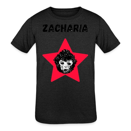 transparaent background Zacharia - Kids' Tri-Blend T-Shirt