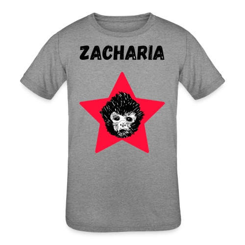 transparaent background Zacharia - Kids' Tri-Blend T-Shirt