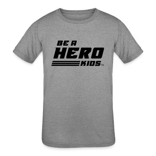 BHK secondary black TM - Kids' Tri-Blend T-Shirt