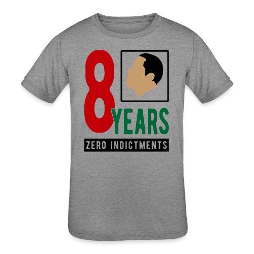 Obama Zero Indictments - Kids' Tri-Blend T-Shirt