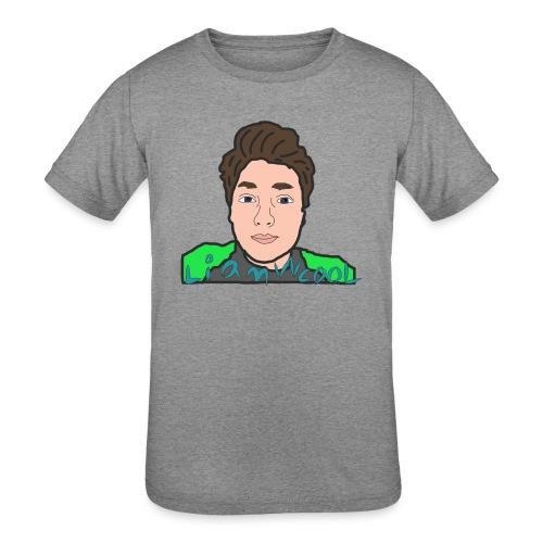 LiamWcool head tee - Kids' Tri-Blend T-Shirt