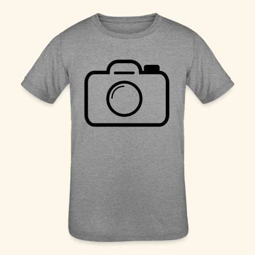 Camera - Kids' Tri-Blend T-Shirt