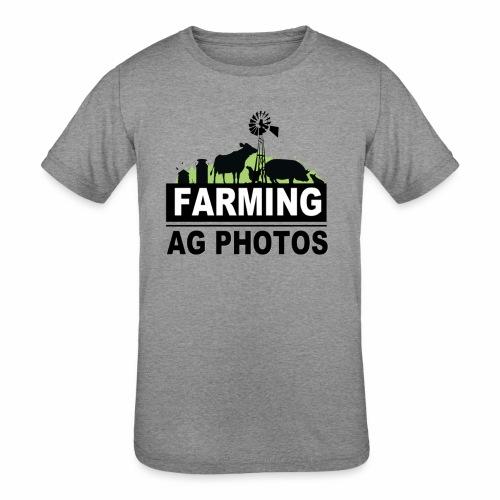 Farming Ag Photos - Kids' Tri-Blend T-Shirt
