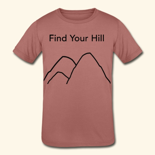 Find Your Hill - Kids' Tri-Blend T-Shirt