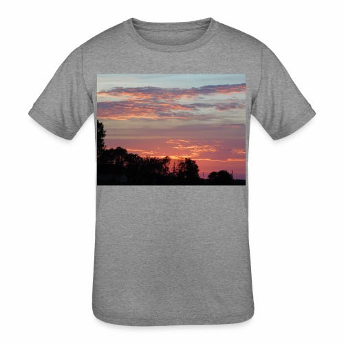 Sunset of Pastels - Kids' Tri-Blend T-Shirt