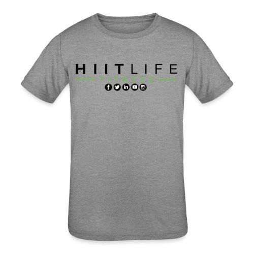 HLFLogosocial - Kids' Tri-Blend T-Shirt