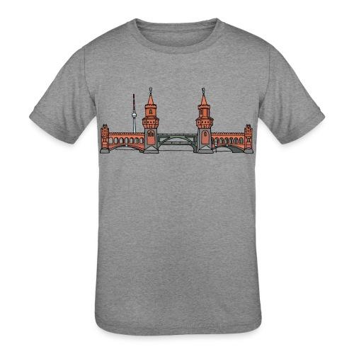 Oberbaum Bridge Berlin - Kids' Tri-Blend T-Shirt