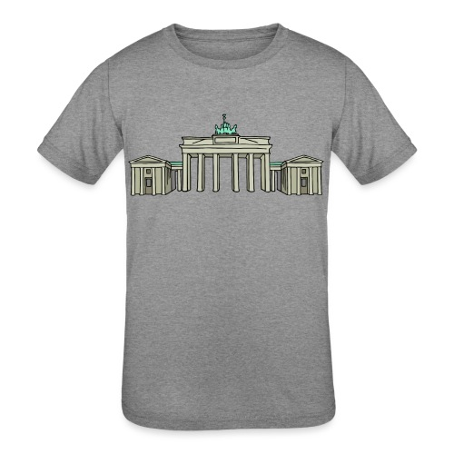 Brandenburg Gate Berlin - Kids' Tri-Blend T-Shirt