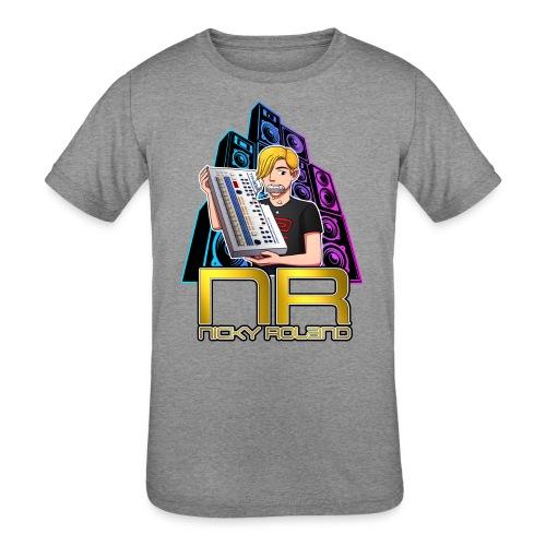 Nicky Roland - 909 - Kids' Tri-Blend T-Shirt