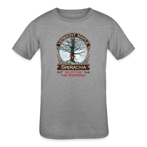 Vermont Maple Sriracha - Kids' Tri-Blend T-Shirt