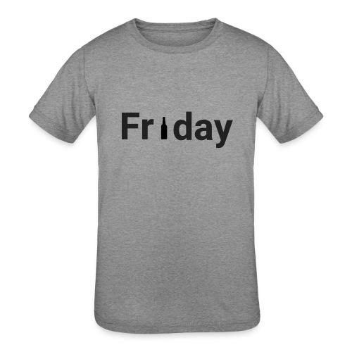 Friday custom print tshirt for men - Kids' Tri-Blend T-Shirt