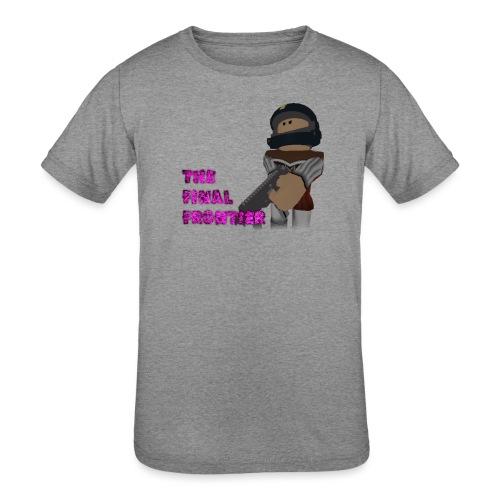 The Final Frontier - Kids' Tri-Blend T-Shirt