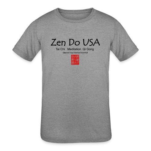 Zen Do USA - Kids' Tri-Blend T-Shirt