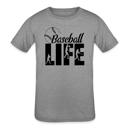 Baseball life - Kids' Tri-Blend T-Shirt