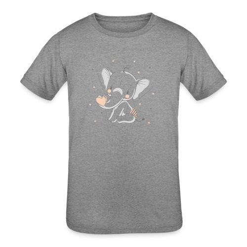 Baby elephant - Kids' Tri-Blend T-Shirt