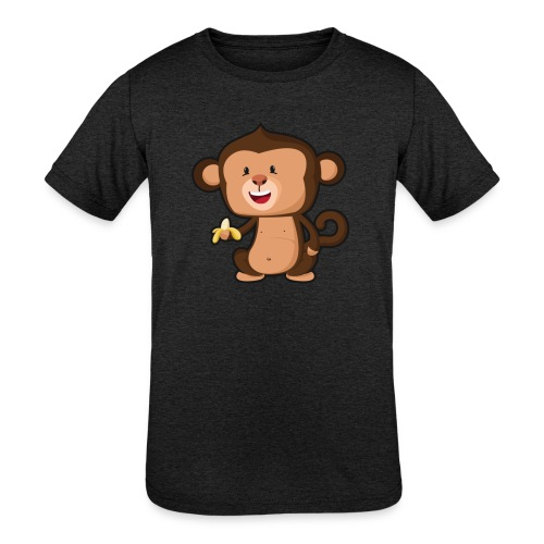 Baby Monkey - Kids' Tri-Blend T-Shirt