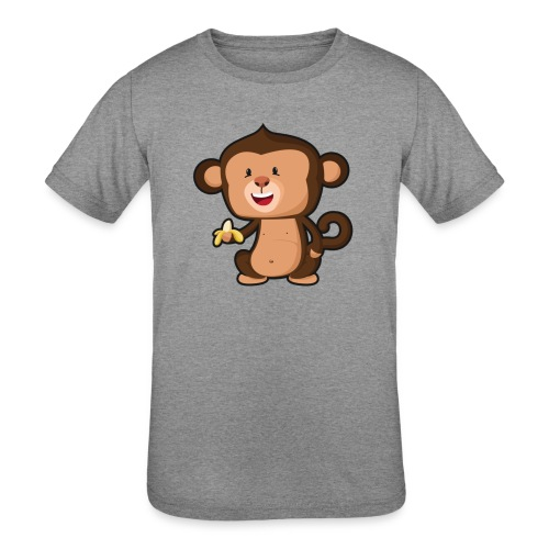 Baby Monkey - Kids' Tri-Blend T-Shirt