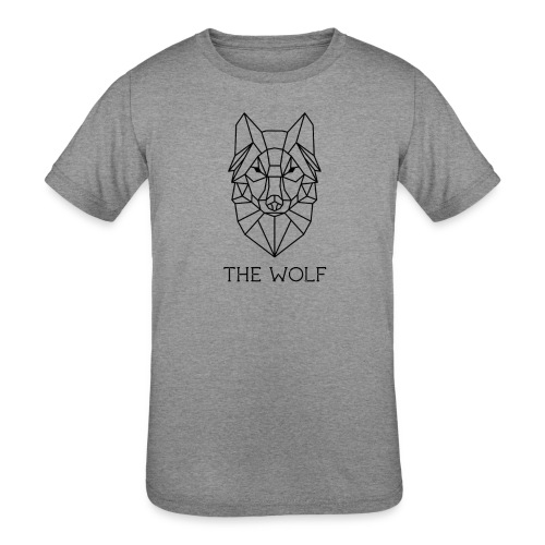 The Wolf - Kids' Tri-Blend T-Shirt