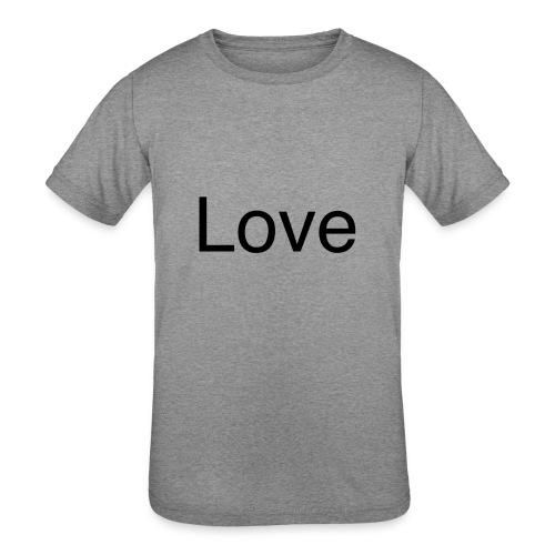 Love - Kids' Tri-Blend T-Shirt