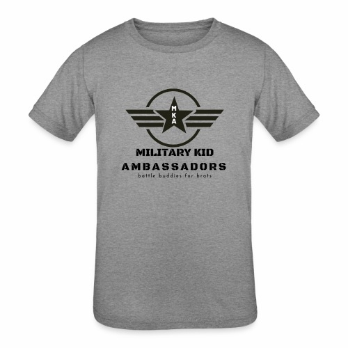 Military Kid Ambassador - Kids' Tri-Blend T-Shirt
