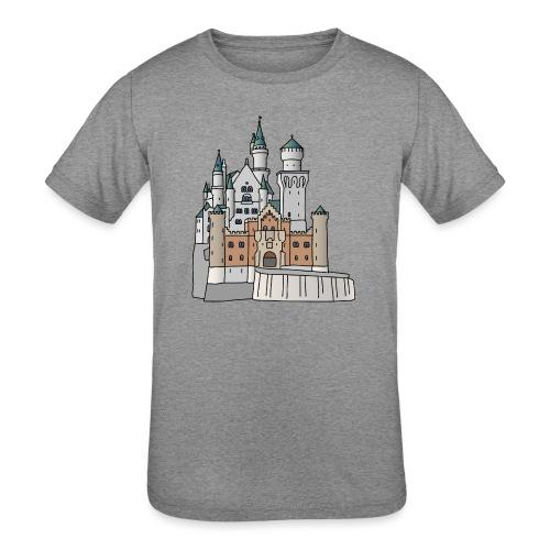 Neuschwanstein Castle, Bavaria - Kids' Tri-Blend T-Shirt