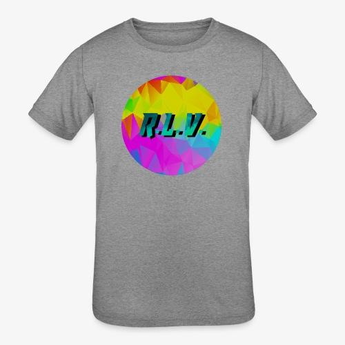 River LaCivita Vlogs - Kids' Tri-Blend T-Shirt