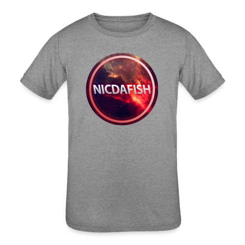 NicDaFish Logo - Kids' Tri-Blend T-Shirt