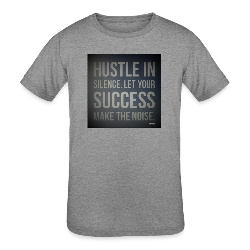 HUSTLE2 - Kids' Tri-Blend T-Shirt
