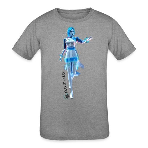 P.A.M.E.L.A. Figure - Kids' Tri-Blend T-Shirt