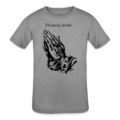 throwinghands - Kids' Tri-Blend T-Shirt