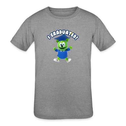 I Graduated! Gummibar (The Gummy Bear) - Kids' Tri-Blend T-Shirt