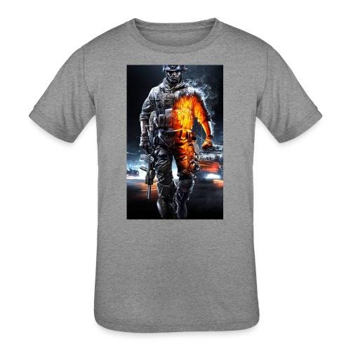 Cod fan - Kids' Tri-Blend T-Shirt
