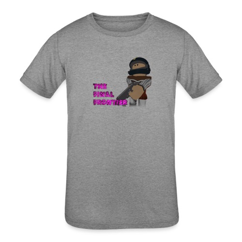 The Final Frontier Sports Items - Kids' Tri-Blend T-Shirt