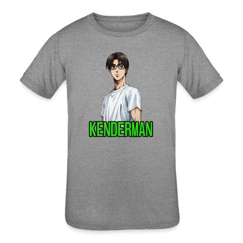 Kenderman manga style merch - Kids' Tri-Blend T-Shirt