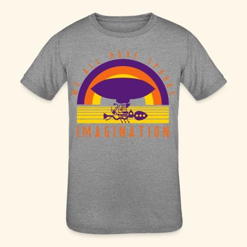 We All Have Sparks - Kids' Tri-Blend T-Shirt