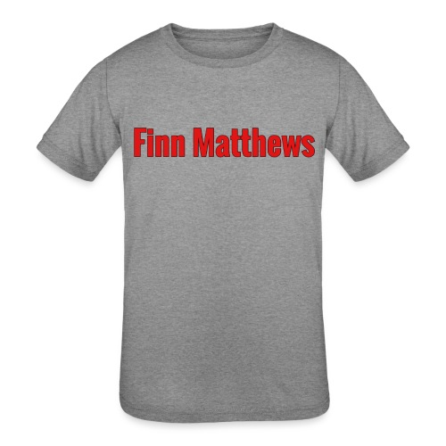 FM Logo - Kids' Tri-Blend T-Shirt