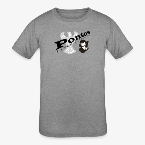 Pontos lives within me. - Kids' Tri-Blend T-Shirt
