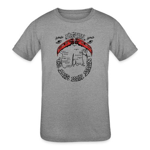 (artwork_195348) THE BOOGIE DOWN BRONX - Kids' Tri-Blend T-Shirt
