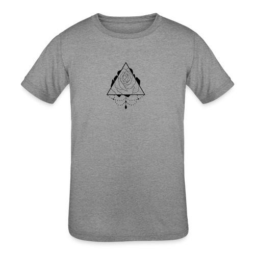 black rose - Kids' Tri-Blend T-Shirt