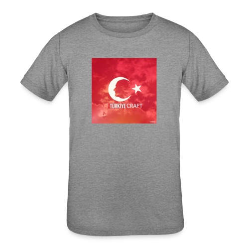 TurkiyeCraft - Kids' Tri-Blend T-Shirt