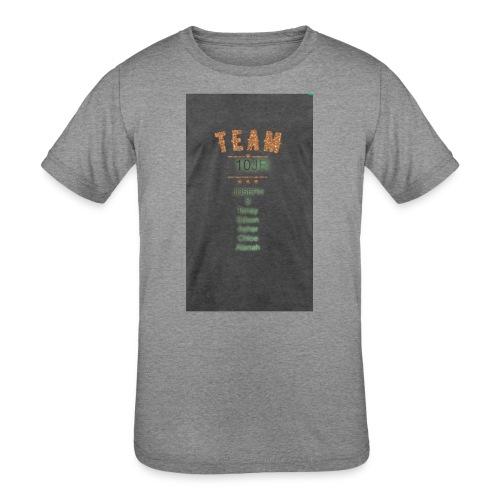 Team 10JR official - Kids' Tri-Blend T-Shirt