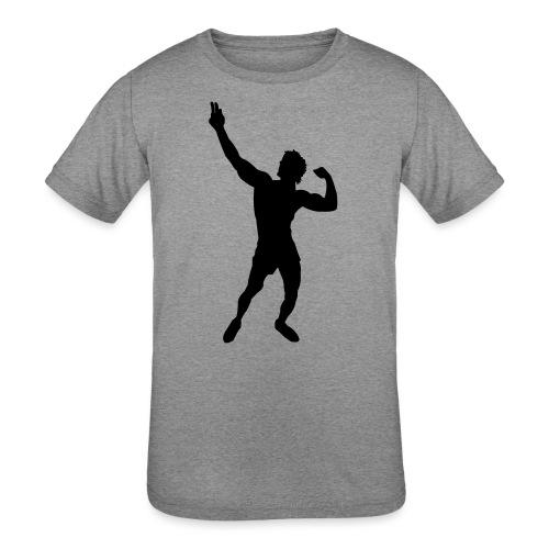 Zyzz Silhouette vector - Kids' Tri-Blend T-Shirt