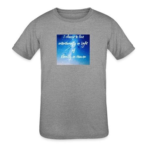 20161206_230919 - Kids' Tri-Blend T-Shirt
