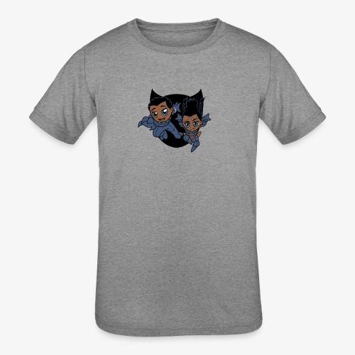 ReckLess Youngster Superhero - Kids' Tri-Blend T-Shirt
