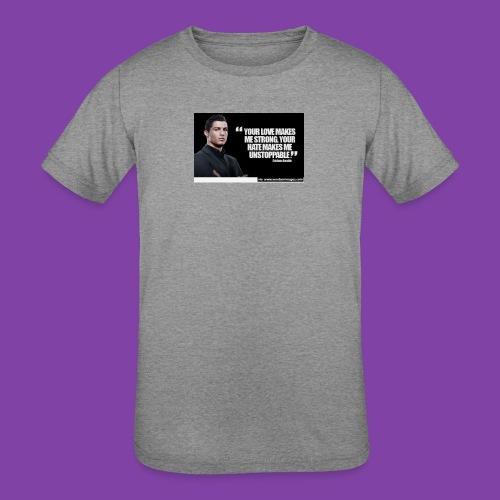 255777-Cristiano-ronaldo------quote-w - Kids' Tri-Blend T-Shirt
