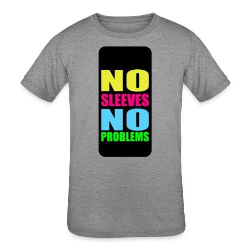 neonnosleevesiphone5 - Kids' Tri-Blend T-Shirt