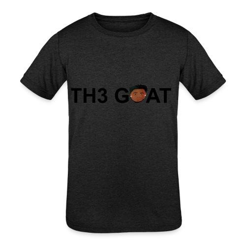 The goat cartoon - Kids' Tri-Blend T-Shirt